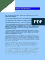 Service Guerison