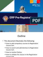 ERP PreRegistration Manual