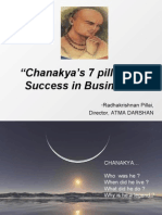 Chankaya's 7 pillars of success in business