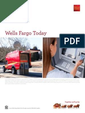 Wells Far Go Today | Wells Fargo | Government National