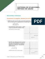 T1 Sistemas Ecuaciones Metodo Gauss