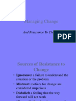 Overcoming Resistance 2