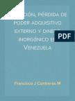 Inflación, pérdida de poder adquisitivo externo y dinero inorgánico en Venezuela