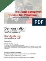 Frei+Frie-Pal-Aufruf -Demo+K KS-15.8.2014