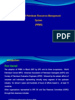 History of PRMS