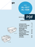 Sharp Al1217-1226_user Manual