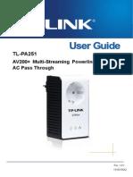 Tl-pa251 251kit User Manual
