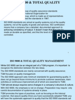 ISO+9000+&+TOTAL+QUALITY+MANAGEMENT