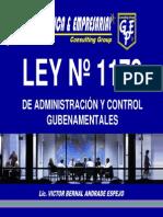 LEY 1178 PARA 2011