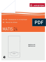 Manual de Utilizare Centrala Ariston Matis 24ff Kit Evac 2013404
