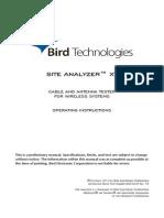 Bird Site Master 920-SA-XT