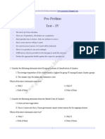 Prelims - Paper 4