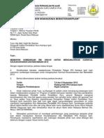 Surat Sponsor Yayasan Perak