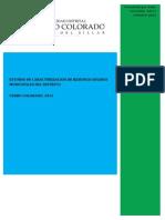 ANEXO N° 03 - Estudio de Caracterización de Residuos Sólidos MDCC-2012