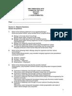 Biology Form 4 (UB1)