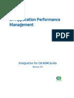 APM_9.5 NSM Integration Guide