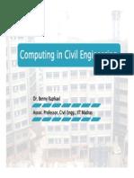 Computing in Civil
