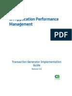 APM_9.5--Transaction Generator Implementation Guide