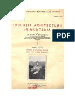 1927_Ghika Budesti_Evolutia Arhitecturii in Muntenia