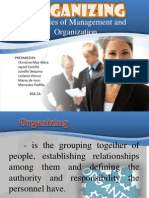 Report in Organizing powerpoint