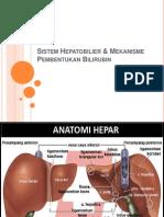 Sistem Hepatobilier Mekanisme Pembentukan Bilirubin