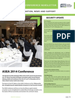 Asea Newsletter 2014