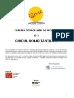FDSC- ghidul solicitantului