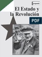 El Estado y La Revolucion (Lenin)
