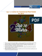 Top 10 Wishes for Commercial Real Estate for 2014