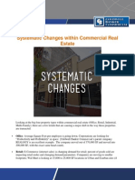 Systematic Changes Within Commercial Real Estate