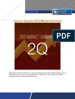 Second Quarter 2013 Market Overview
