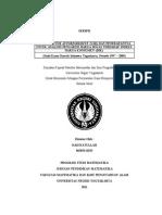 SKRIPSI-Model VAR Dan Penerapannya Untuk Analisis Pengaruh Harga MIGAS Terhadap IHK (Hadiyatullah