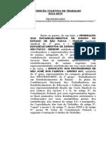 Convencao Coletiva de Trabalho - Sao Jose Dos Campos