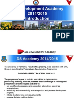 DS Academy Intro 2014 2015