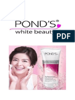 Consumer Behavior and POND's (an Application of Concepts)