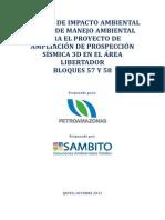 Estudio de Impacto Ambiental y Plan de Manejo Ambiental_area Libertador_sismica 3d