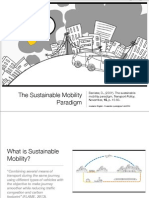 Sustainable Mobility Paradigm