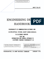 Engineering Design Handbook - Vulnerability of Communication-Electronic and Electro-Optical Systems (Except Guided Missiles) to Electronic Warfare, Pa