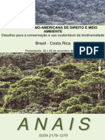 Anais I Jornada Latino Americana de Direito e Meio Ambiente 2012