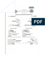 Nadra Sample Marraige Registration Certificate
