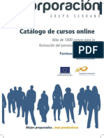 Catalogo de Cursos 2013 Gscorporacion