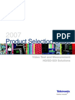 Product Selection Guide 2007