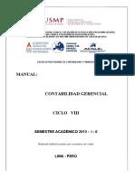 Manual Contabilidad Gerencial-2013- I-II