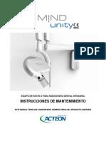 XMIND Unity Maintenance Instructions 1.2c-ES