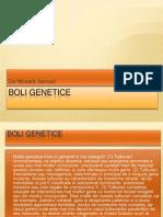 Boli Genetice