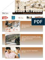 """Boletín Electrónico """"Desde el Fondo N2-2014"""