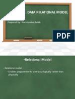 Chapter 3 - Data Relational Model