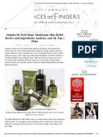 V5 Preview _Origins Dr Weil Mega-Mushroom Skin Relief Review and Ingredients Analysis, And My Top 3 Picks_ - Of Faces and Fingers
