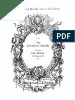 Mendelssohn - Die Hebriden FS Rsl
