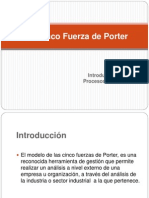 Las Cinco Fuerza de Porter